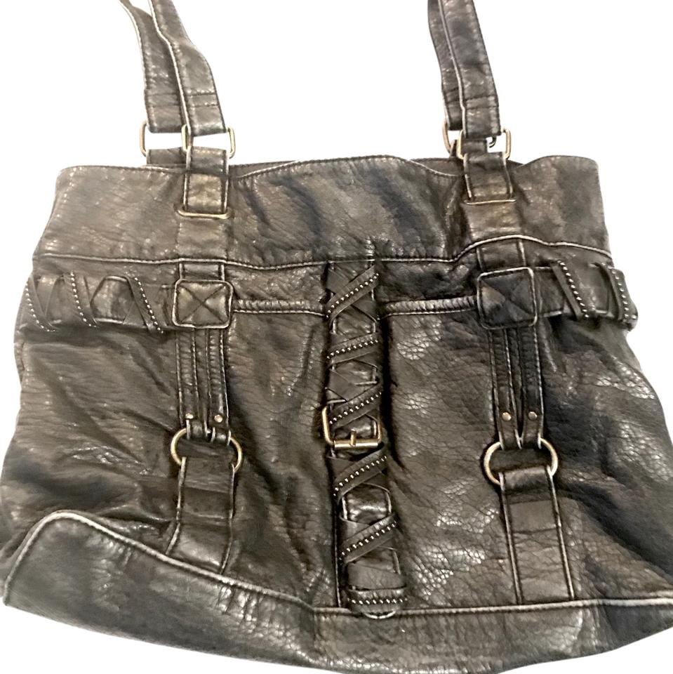 ae58a920fe9d Converse Purse Leather Tote - Tradesy