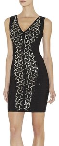 Herve Leger Beaded Night Out Exclusive Dress