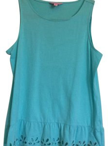 Lilly Pulitzer Top Turquoise Blue
