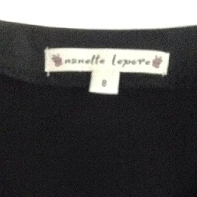 Nanette Lepore Top Black & Cream