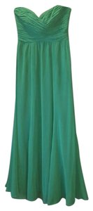Ralph Lauren Long Gown Ruched Bodice Prom Strapless Dress