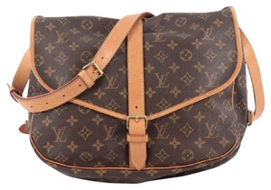 Louis Vuitton Saumur Canvas Messenger Bag