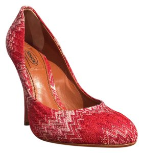 Missoni Red Pumps
