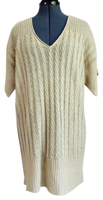 Preload https://img-static.tradesy.com/item/21150498/jcrew-sand-light-knit-mid-length-short-casual-dress-size-4-s-0-1-650-650.jpg