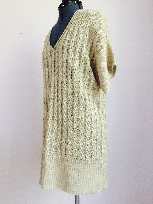 J.Crew short dress Sand Knit Long Sweater Beige on Tradesy Image 2