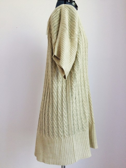 J.Crew short dress Sand Knit Long Sweater Beige on Tradesy Image 3