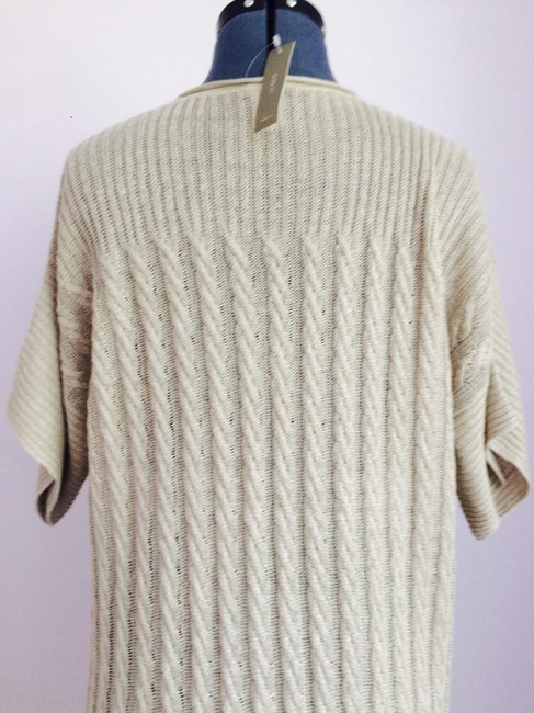 J.Crew short dress Sand Knit Long Sweater Beige on Tradesy Image 5
