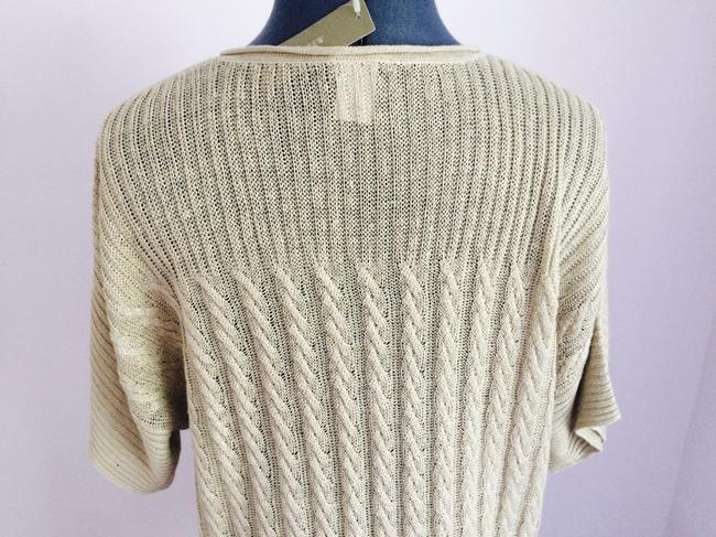J.Crew short dress Sand Knit Long Sweater Beige on Tradesy Image 6