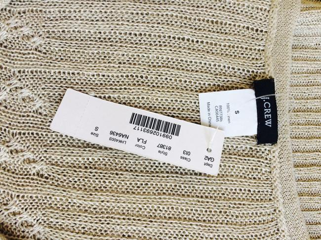 J.Crew short dress Sand Knit Long Sweater Beige on Tradesy Image 8