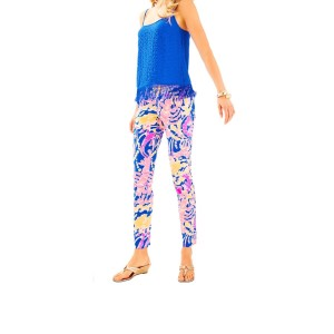 Lilly Pulitzer Wide Leg Pants pink, blue