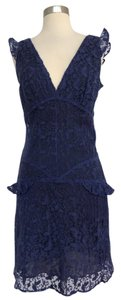 Anna Sui short dress Purple on Tradesy