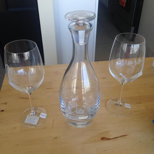 Kate Spade New York Two Of A Kind Decanter And Wine Glasses
