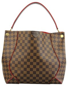 Louis Vuitton Canvas Brown Hobo Bag
