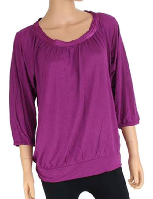 Banana Republic Teal Top Raspberry Only Image 1