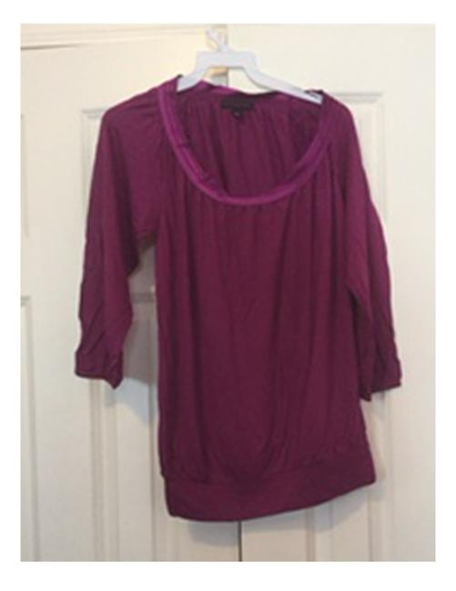 Banana Republic Teal Top Raspberry Only Image 3
