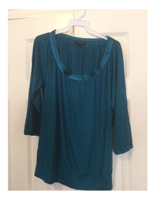 Banana Republic Teal Top Raspberry Only Image 5