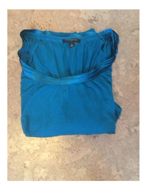 Banana Republic Teal Top Raspberry Only Image 6