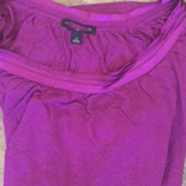 Banana Republic Teal Top Raspberry Only Image 7