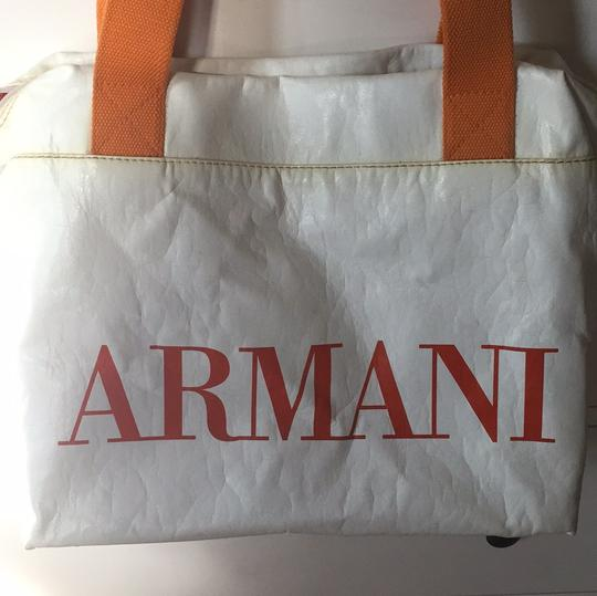Emporio Armani white Travel Bag Image 1