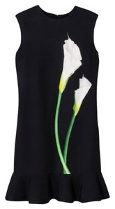 Victoria Beckham short dress Calla Lily Office Party Spring Floral Ruffle on Tradesy