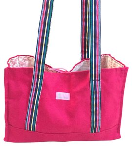 Molly B Tote in Pinkish- red