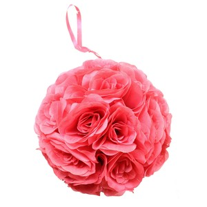 Coral Kissing Balls Set Of 7 Centerpiece