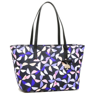 Kate Spade Leather Ryan Hawthorn Lane Tote in Rich Navy Multi