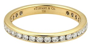 Tiffany & Co. Diamonds 18k Yellow Gold Eternity Band Ring Size 5.5