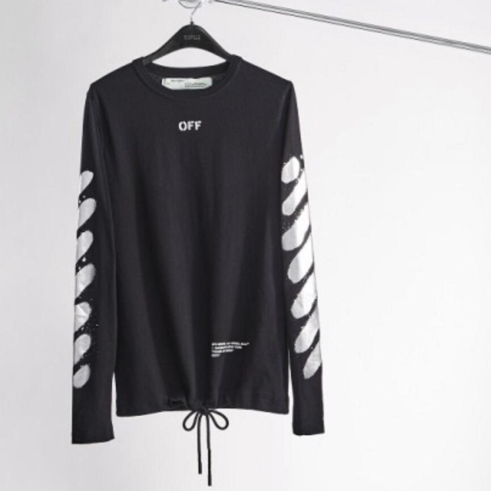 805c4c62 Off-White™ Black/Silver Off-white C/O Virgil Abloh Xo Barneys New ...