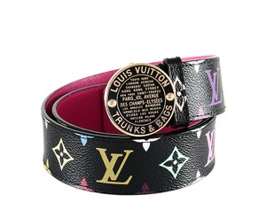 Louis Vuitton Louis Vuitton Belt Multicolore Inventeur Trunks Bags New in Box 32