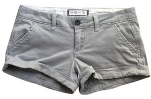 Abercrombie & Fitch Cuffed Shorts Gray
