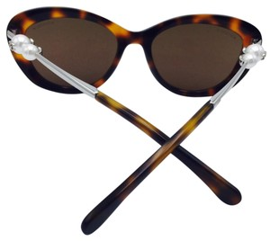 Chanel Stunning Chanel Light Tortoise Butterfly Pearl Sunglasses 5340-H 55