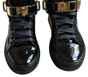 Buscemi Patent Leather Black Patent Athletic