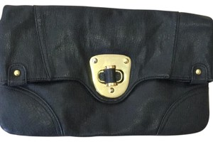 Urban Expressions black/gold Clutch