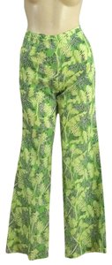 Lilly Pulitzer Hippie Straight Pants Green