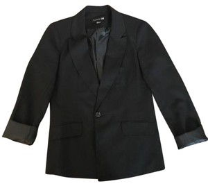 Forever 21 21 Jacket 3/4 black Blazer