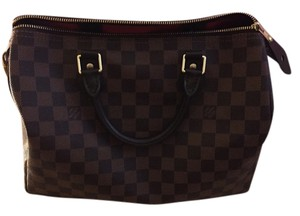 Louis Vuitton Black brown Messenger Bag