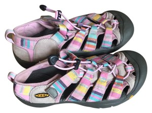 Keen pink and gray Sandals