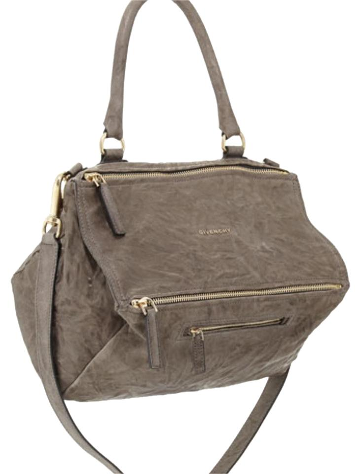 a1f547bf54 Givenchy Pandora (Medium) Tan Wrinkled Leather Shoulder Bag - Tradesy