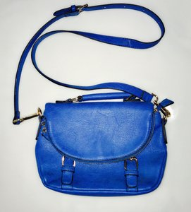 Urban Expressions Clutch Blue Vegan Trend Cross Body Bag