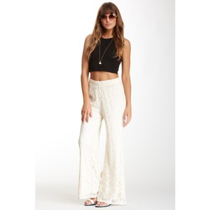 Blu Pepper Wide Leg Pants Cream