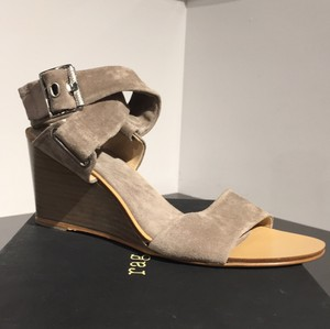 Rag & Bone Warm Grey Wedges