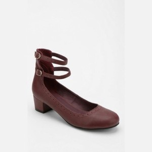 Urban Outfitters Burgundy Pumps
