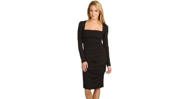 Nicole Miller Tucked Little Women Sale Dress Image 1