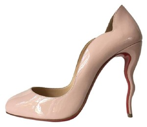 Christian Louboutin Wawy Dolly Wave Dorissima Ballerina Pink Pumps