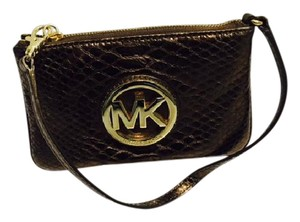 Michael Kors Wristlet in bronze