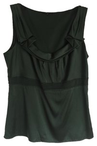 Elie Tahari Top forrest green