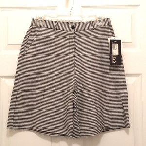 LILY'S of Beverly Hills Golf Golf Spandex Women's Golf Dress Shorts Black White