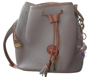 Dooney & Bourke Vintage Leather Spring Hobo Bag