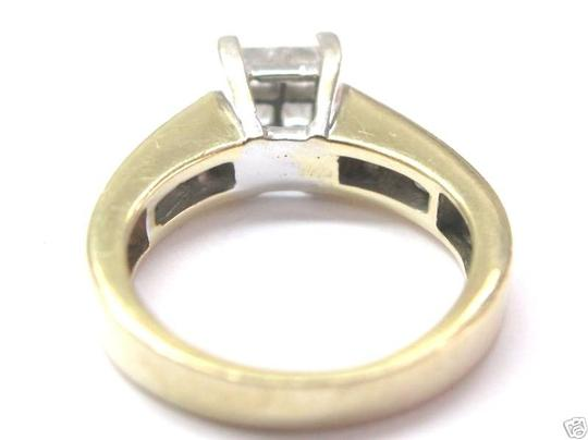 Other Fine Invisible Diamond Engagement Ring YG 14KT 1.00CT Image 3